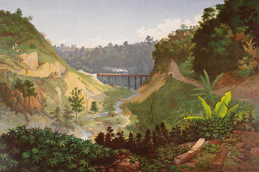 Album del Ferro-Carril Mexicano - Barranca de Metlac (II) (1877)