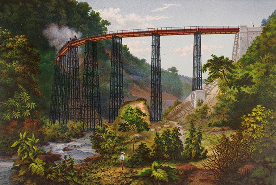 Album del Ferro-Carril Mexicano - Puente de Metlac (1877)