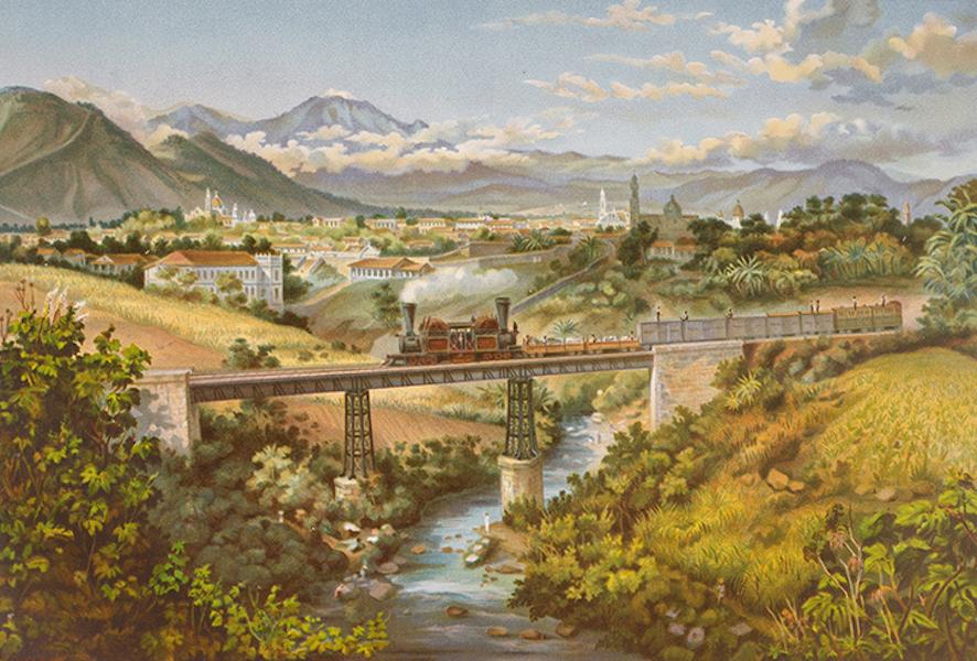 Album del Ferro-Carril Mexicano - Orizaba (desde el puente de Paso del Toro) (1877)