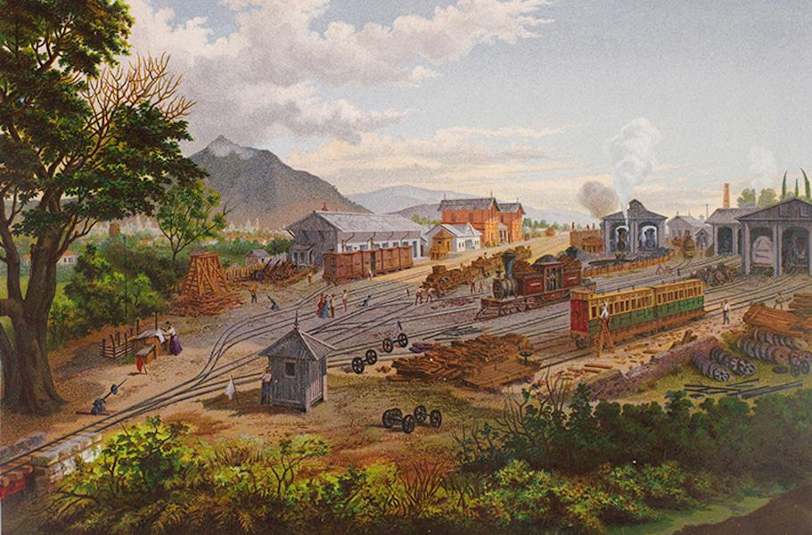 Album del Ferro-Carril Mexicano - Estacion de Orizaba (1877)