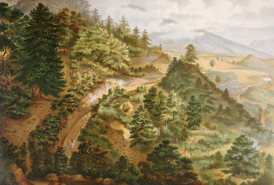 Album del Ferro-Carril Mexicano - La Bota (Cumbres de Maltrata) (1877)