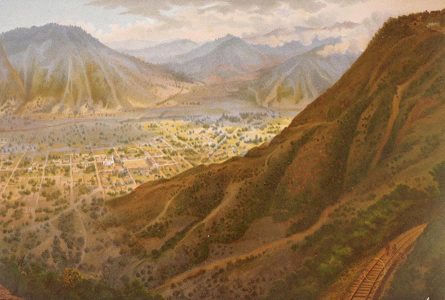 Album del Ferro-Carril Mexicano - Panorama de maltrata (1877)