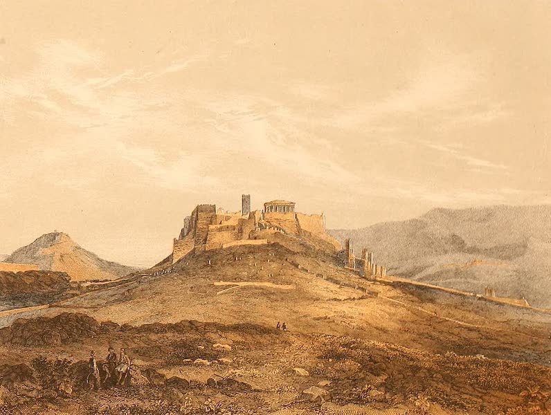 Album des classischen Alterthums - Athen mit dur Akropolis (1870)