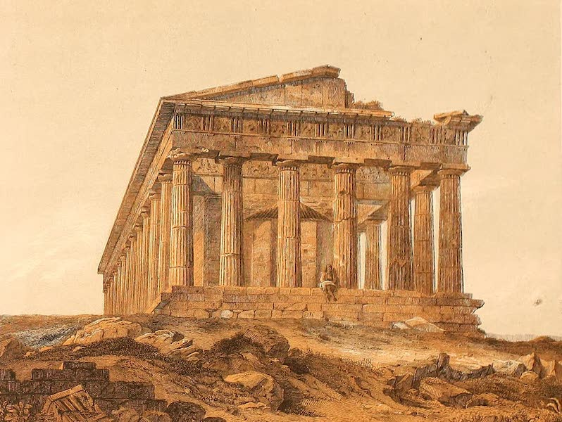 Album des classischen Alterthums - Theseus-Tempel in Athen (1870)