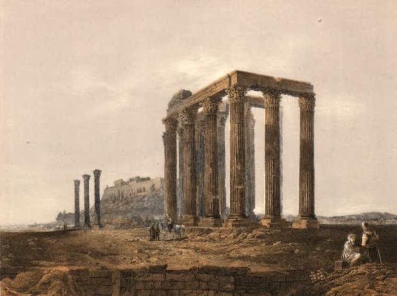 Album des classischen Alterthums - Jupiter-Tempel in Athen (1870)