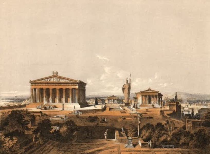 Album des classischen Alterthums - Akropolis von Athen zur Zeit des Perikles (1870)