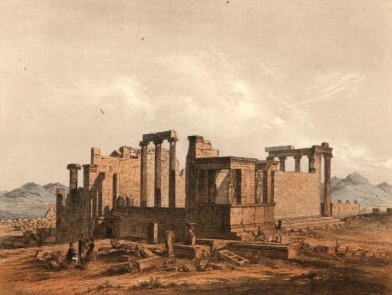 Album des classischen Alterthums - Erechtheum in Athen (1870)