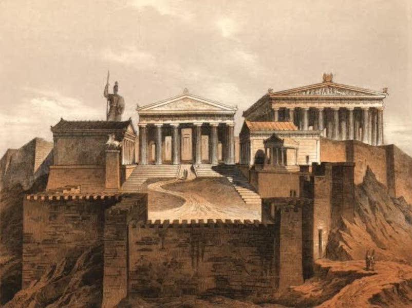 Album des classischen Alterthums - Propylaeen in Athen (1870)