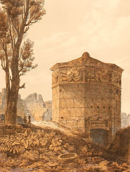 Album des classischen Alterthums - Thrum der Winde in Athen (1870)