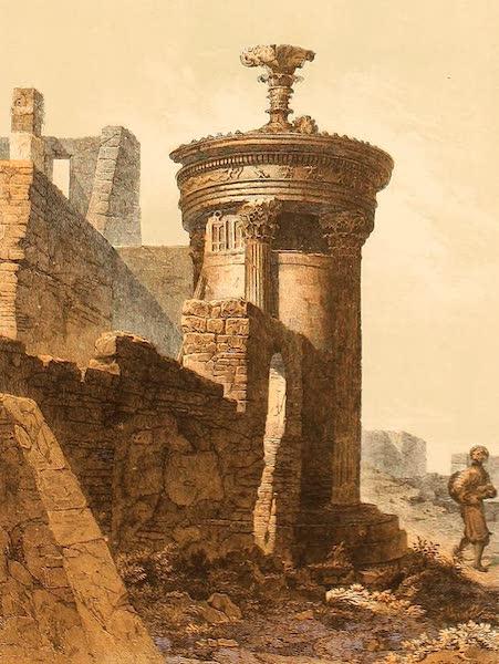 Album des classischen Alterthums - Monument des Lysicrates in Athen (1870)