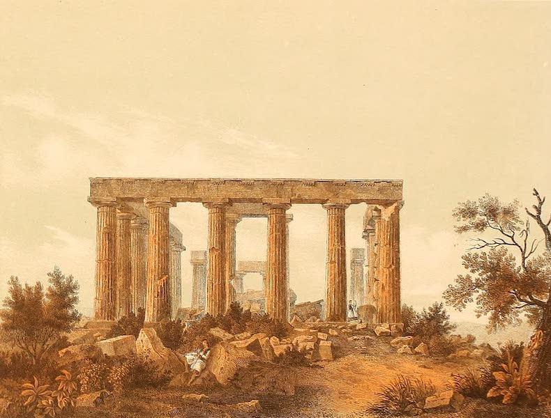 Album des classischen Alterthums - Minerva Tempel auf Aegina (1870)