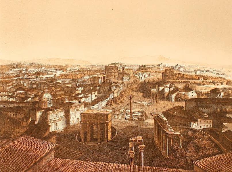 Album des classischen Alterthums - Rom vom Capitol aus (1870)