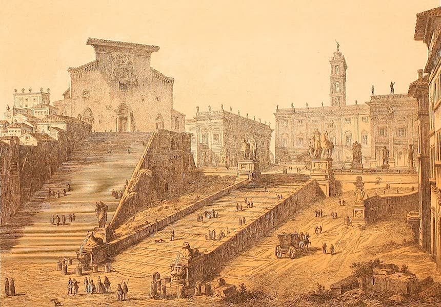 Album des classischen Alterthums - Capitol in Rom (1870)