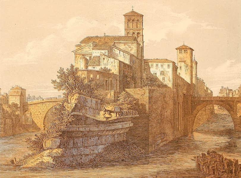 Album des classischen Alterthums - Tiber-Insel in Rom (1870)