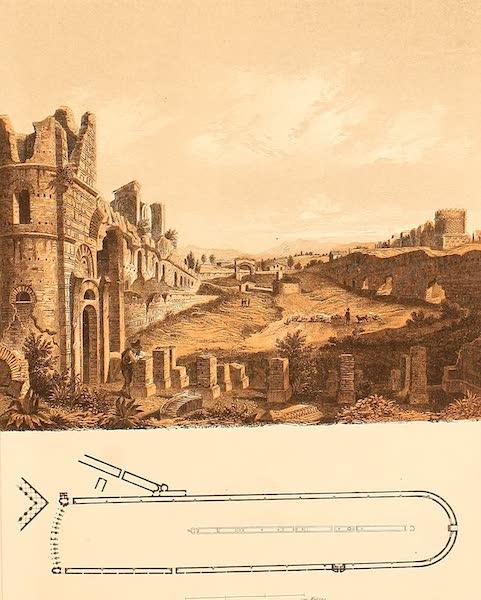 Album des classischen Alterthums - Circus des Maxentius in Rom (1870)
