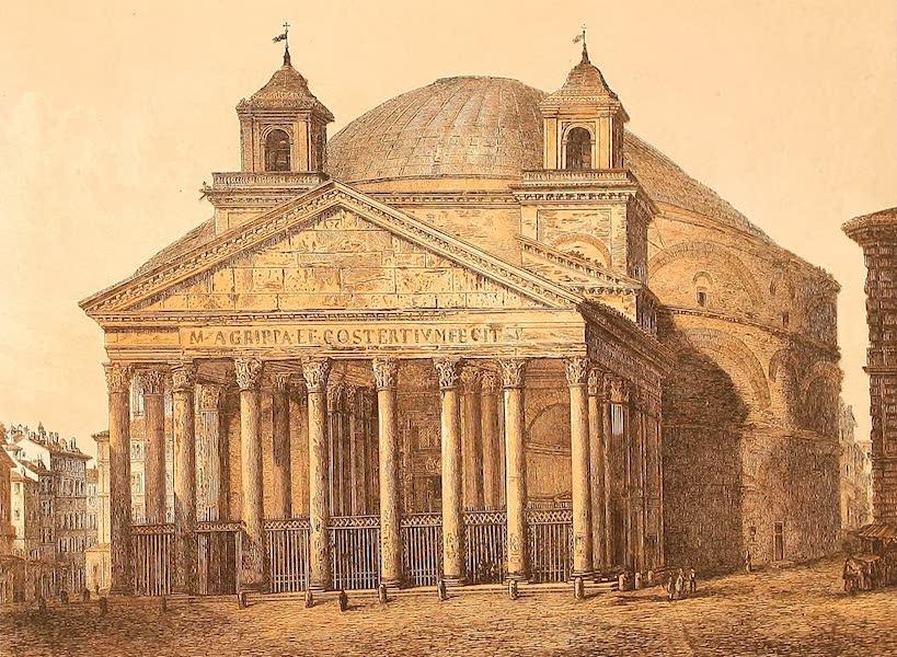Album des classischen Alterthums - Pantheon (aussen) in Rom (1870)