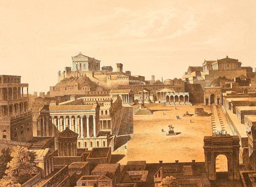 Album des classischen Alterthums - Forum (restaurirt) in Rom (1870)