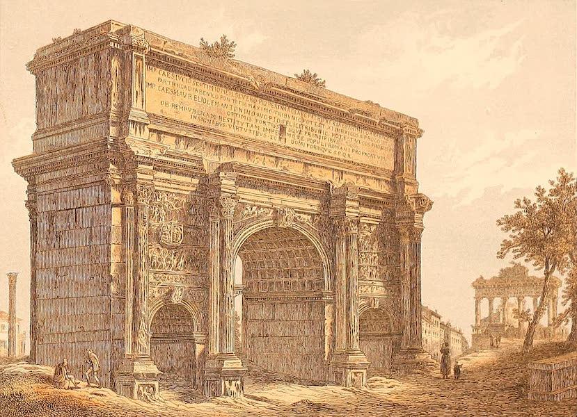 Album des classischen Alterthums - Bogen des Severus in Rom (1870)