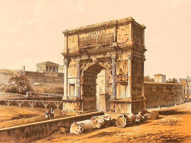 Album des classischen Alterthums - Bogen des Titus in Rom (1870)