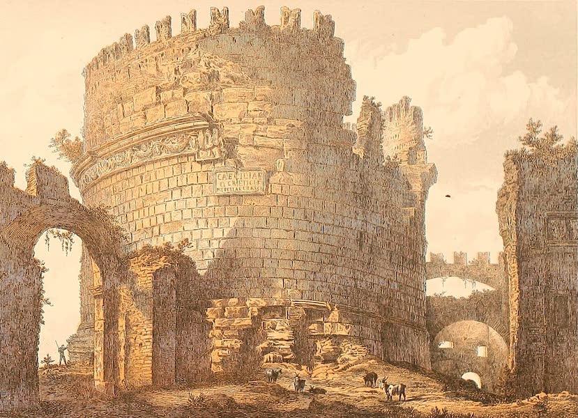 Album des classischen Alterthums - Grabmal der Caecilia Matella in Rom (1870)