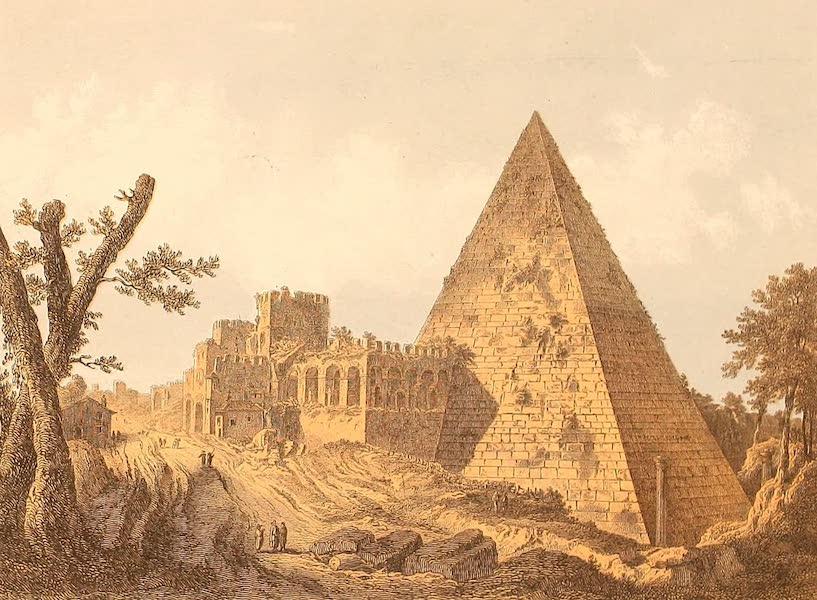 Album des classischen Alterthums - Grabmal des C. Cestius in Rom (1870)