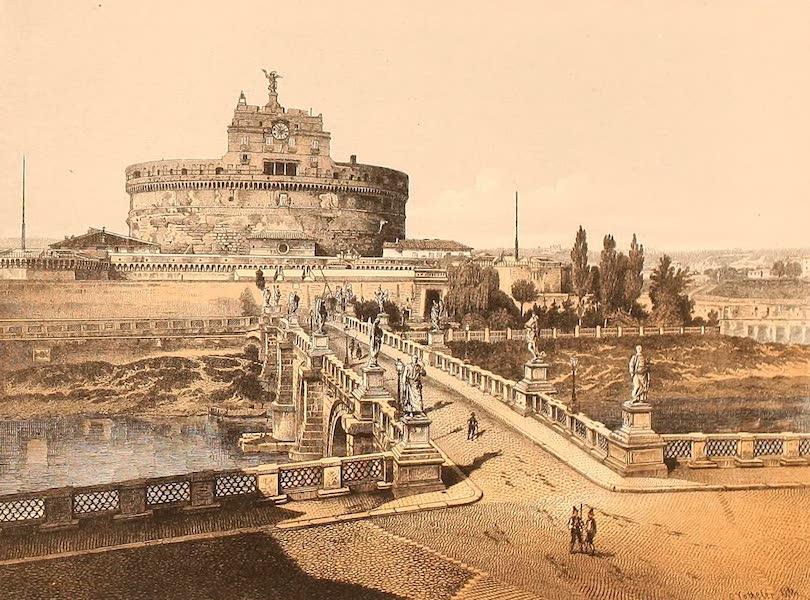 Album des classischen Alterthums - Engelsburg in Rom (1870)