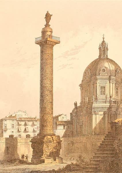 Album des classischen Alterthums - Saule des Trajan in Rom (1870)