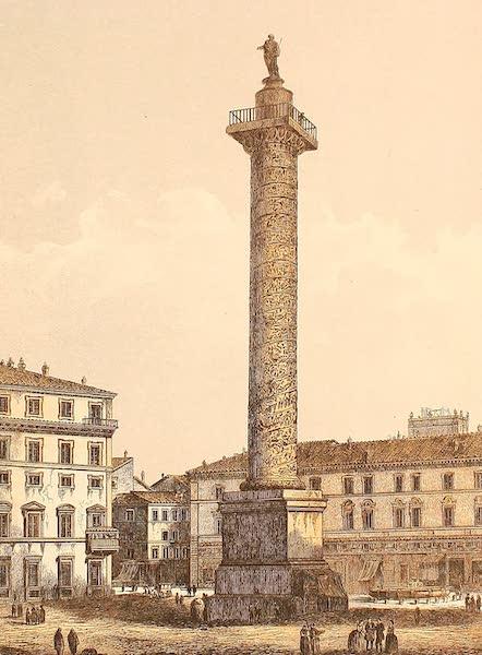 Album des classischen Alterthums - Saule des Antonin in Rom (1870)
