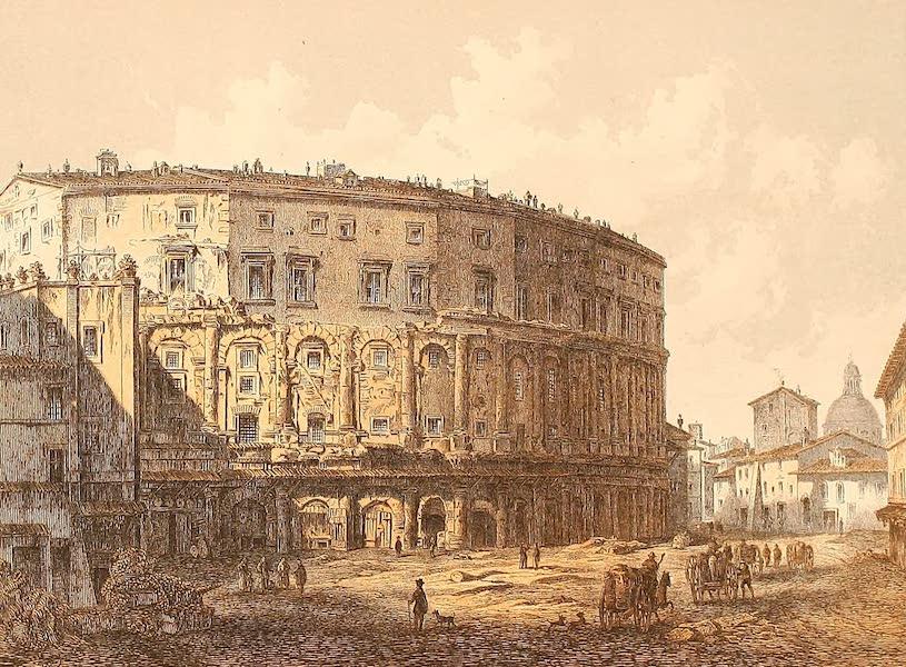 Album des classischen Alterthums - Theater des Marcellus in Rom (1870)