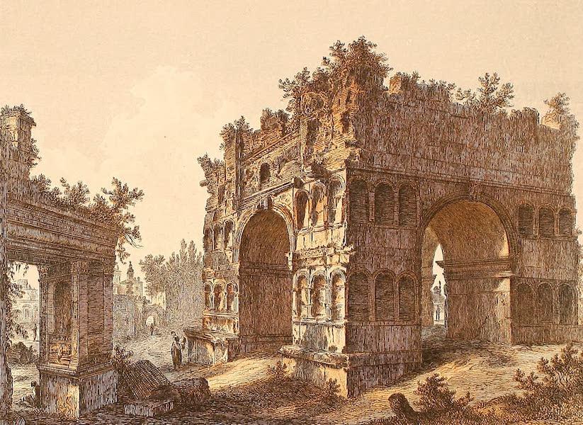 Album des classischen Alterthums - Janus quadrifrons in Rom (1870)