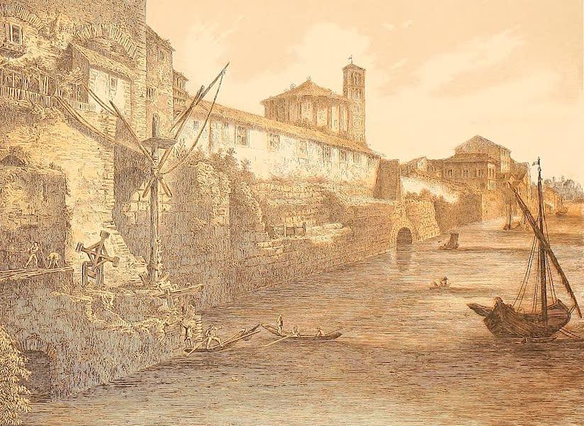 Album des classischen Alterthums - Cloaca maxima in Rom (1870)