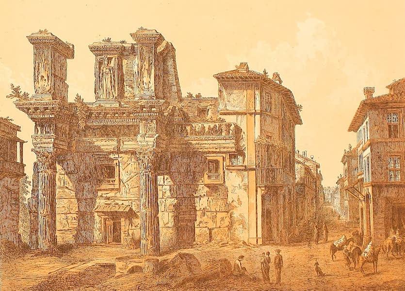 Album des classischen Alterthums - Forum des Nerva in Rom (1870)