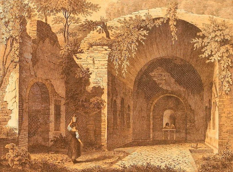 Album des classischen Alterthums - Nympheum der Egeria in Rom (1870)