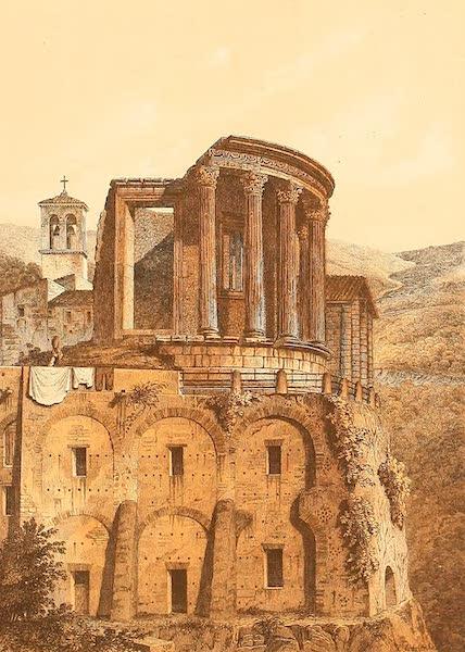 Album des classischen Alterthums - Vesta-Tempel in Tivoli (1870)
