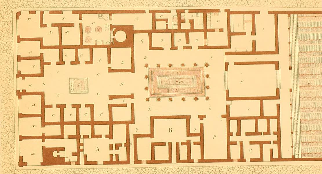 Album des classischen Alterthums - Romisches Haus (Grundriss) (1870)