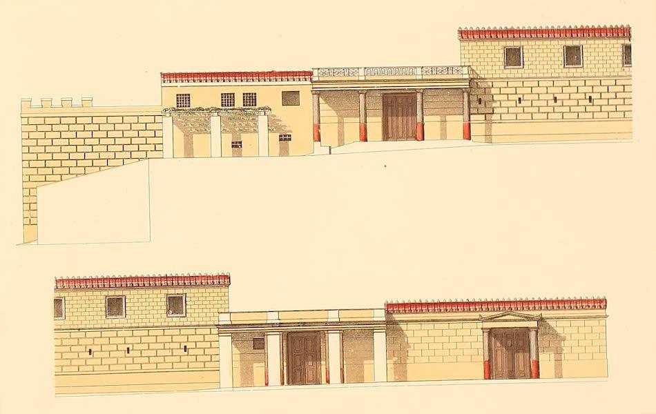 Album des classischen Alterthums - Romisches Haus (Seitenansicht) (1870)