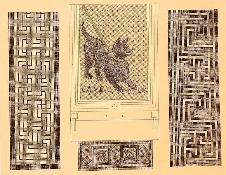 Album des classischen Alterthums - Mosaikboden (1870)