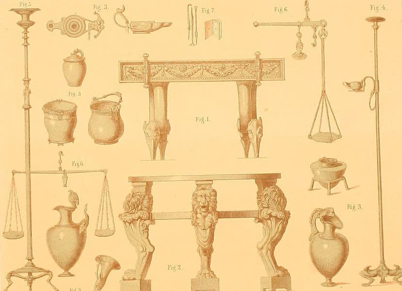 Album des classischen Alterthums - Hausgerathe (1870)