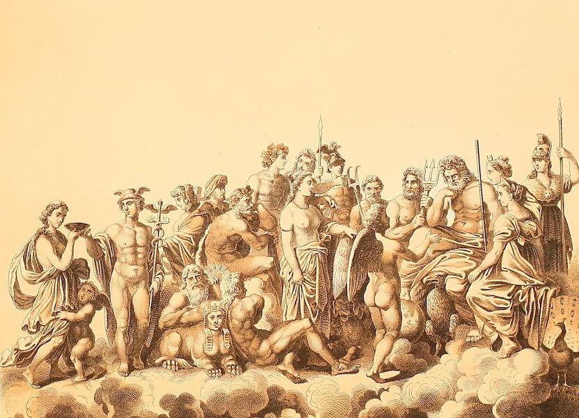 Album des classischen Alterthums - Gotterversammlung (1870)