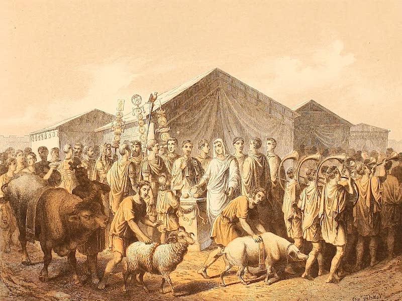 Album des classischen Alterthums - Opfer (1870)