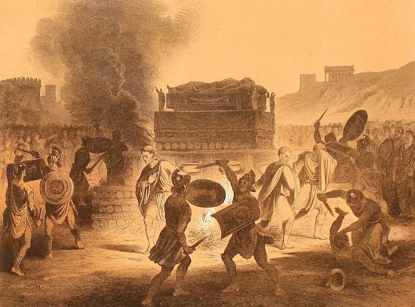 Album des classischen Alterthums - Leichenbegangniss (1870)