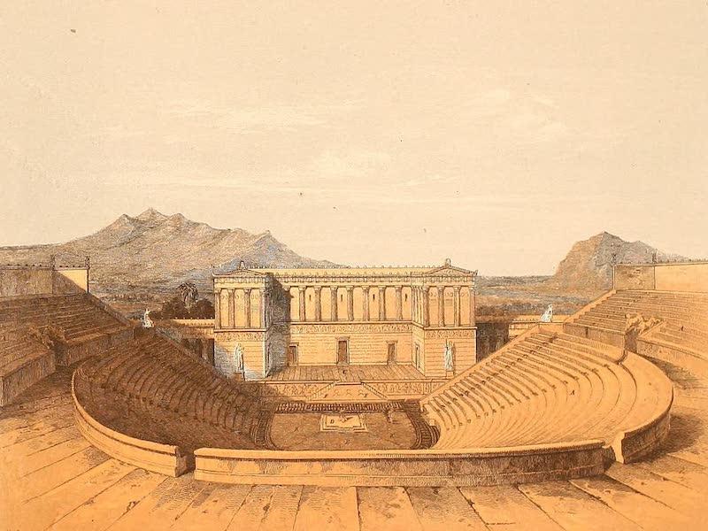 Album des classischen Alterthums - Theater zu Egesta (1870)