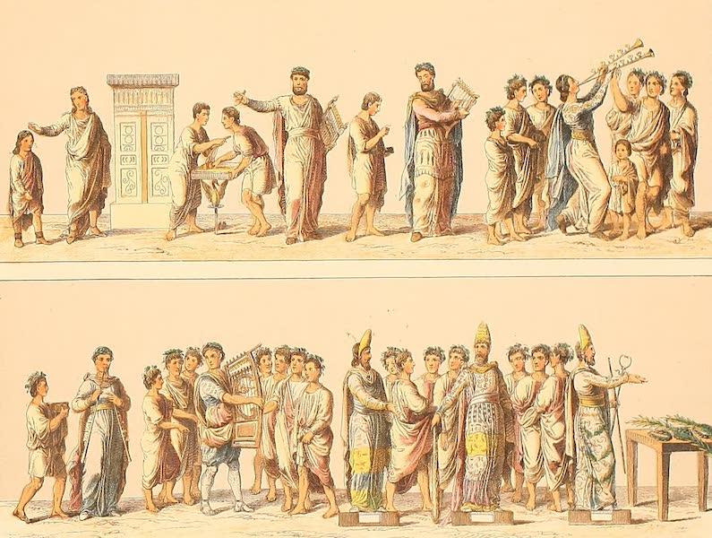 Album des classischen Alterthums - Chor (1870)