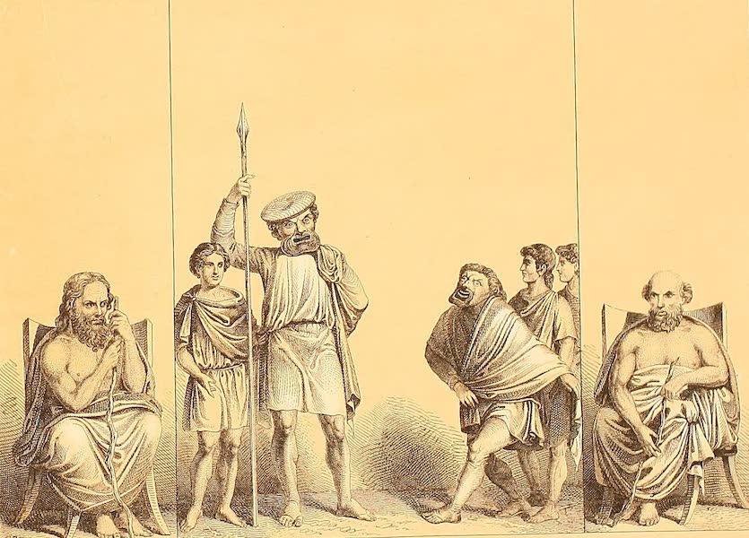 Album des classischen Alterthums - Theater-Scene (1870)