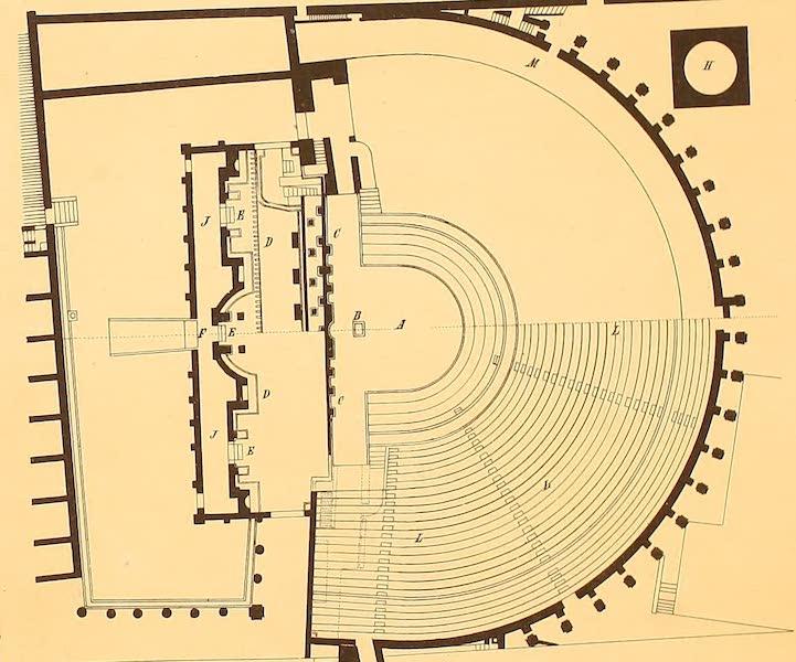Album des classischen Alterthums - Grundriss eines Theaters (1870)