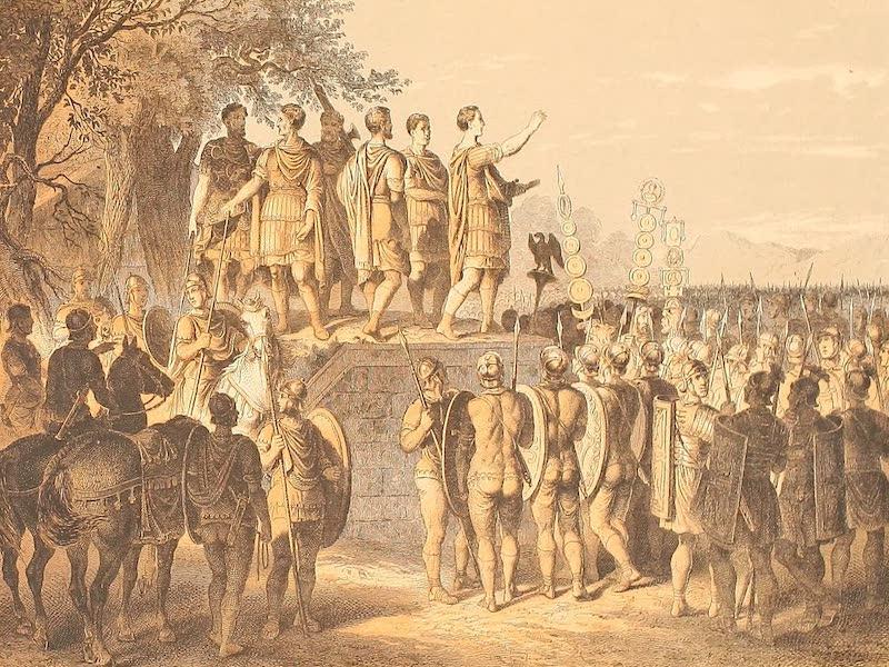 Album des classischen Alterthums - Allocutio vom Suggestum (1870)