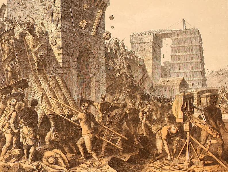 Album des classischen Alterthums - Sturm auf eine belagerte Stadt (1870)