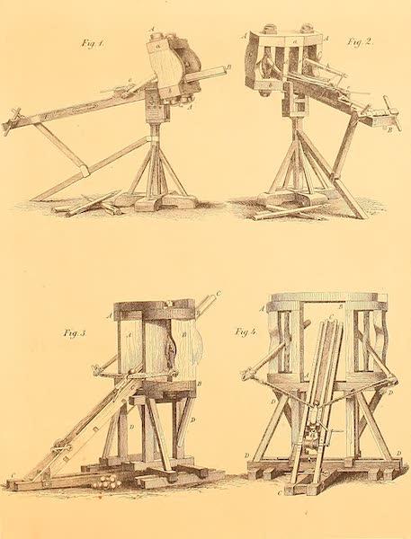 Album des classischen Alterthums - Schweres Geschutz (1870)