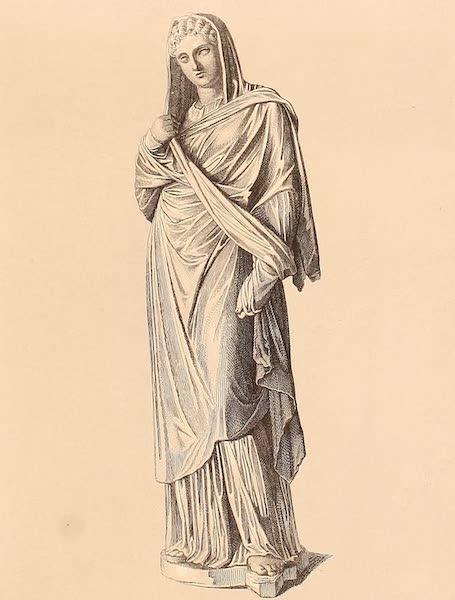 Album des classischen Alterthums - Griechin (1870)