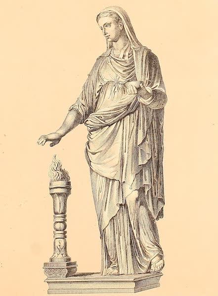 Album des classischen Alterthums - Vestalin (1870)